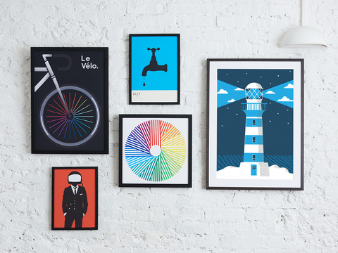Six simple steps to create the perfect gallery wall